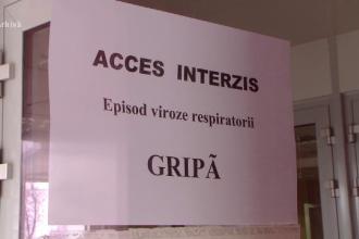 O femeie în vârstă de 63 de ani a murit la Spitalul de Urgenţă din Arad din cauza gripei
