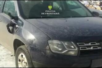 Tinerii care au bătut polițiști de frontieră și le-au incendiat mașina, arestați