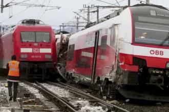 Accident feroviar petrecut în Austria: o persoană a murit și alte 17 sunt rănite