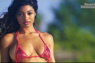 Danielle Herrington, al treilea model de culoare care ajunge pe coperta Sports Illustrated