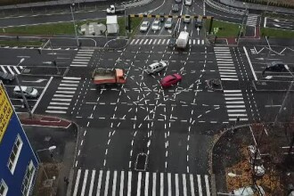 O nouă problemă cu pasajul celebru din Timișoara. Polițiștii îl păzesc non stop