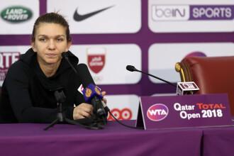 """Simona Halep s-a retras de la turneul de la Doha. """"Trebuie să mă gândesc mai întâi la sănătate"""""""