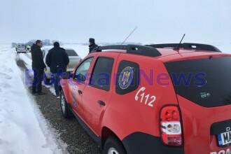 Bătrân găsit îngheţat pe un drum din Botoşani. Ce era lângă cadavru