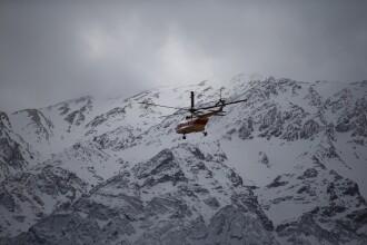 Avionul prăbuşit în Iran NU ar fi fost găsit. Căutări prin zăpadă cu câini şi drone
