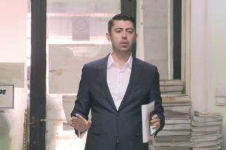 Vlad Cosma NU s-a prezentat la audieri în cazul reclamațiilor împotriva DNA, depuse chiar de el