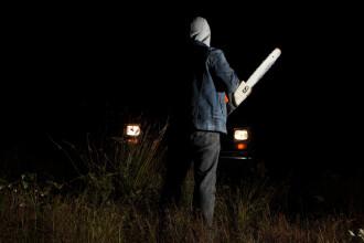 Bărbat ucis cu drujba în propria locuință, în Timiș. Cum au scăpat rudele victimei