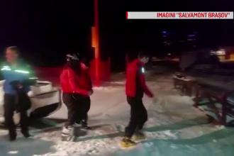 Operațiune de salvare în Poiana Brașov a unei schioare de 20 de ani, care s-a rătăcit pe munte