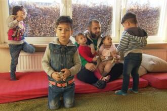 """Un refugiat trăiește cu două soții și șase copii în Germania: """"Mulțumesc Mama Merkel"""""""