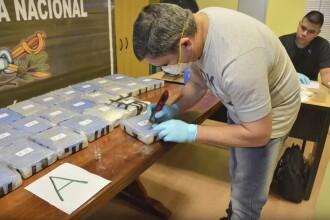 Sute de kilograme de cocaină, găsite în ambasada Rusiei din Argentina