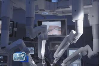 Chirurgii colaborează cu roboţii, la o clinică din România. Cum se fac analizele virtuale
