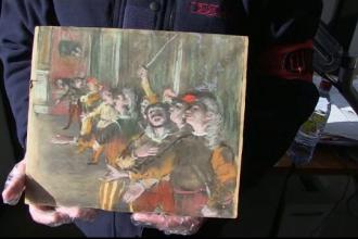 Pictură a lui Degas, furată acum 9 ani, a fost descoperită din întâmplare