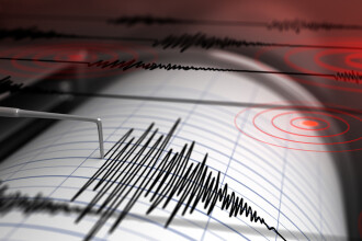 Cutremur de 3,1 pe Richter, miercuri după-amiază, în Vrancea