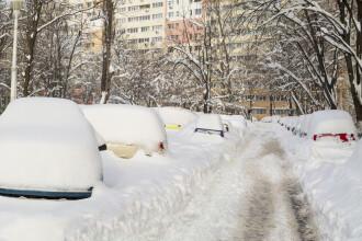 Vreme deosebit de rece și ninsori în toată țara, marți. Prognoza meteo până vineri