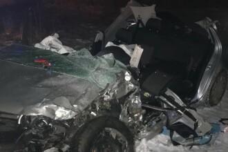 Accident cu opt victime, pe un drum din Vaslui. A fost activat planul roșu de intervenție