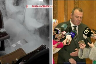 Reacția ministrului Transporturilor după ce a văzut pozele cu vagonul plin de zăpadă