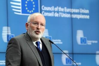 Frans Timmermans: Aștept explicații de la guvernanți cu privire la propunerea de revocare a procurorului-șef al DNA