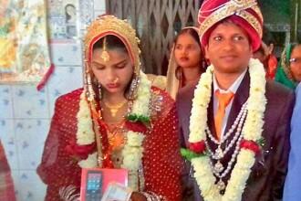 Motivul pentru care o mireasă din India și-a părăsit mirele în fața altarului