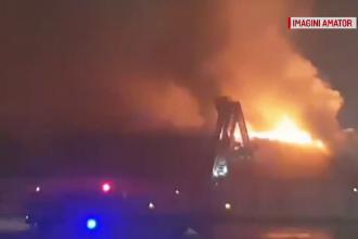 Scoala reabilitată din Iaşi, cuprinsă de flăcări în toiul nopţii. Ce spune primarul comunei