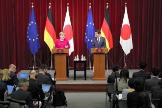 """Angela Merkel: """"Trebuie să dăm dovadă de creativitate în privinţa Brexitului"""