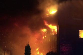 Incendiul de la fabrica din Alba Iulia. 20 de pompieri, premiați pentru eforturile depuse