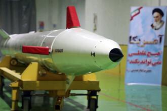 Iranul a testat o nouă rachetă de croazieră. Ce ţară ar putea ataca