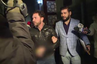 Primele imagini cu Matteo Politi după arestare. Gestul făcut față de iubita lui la instanță