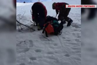 Pățania unui adolescent care s-a aventurat pe o pârtie închisă din Azuga