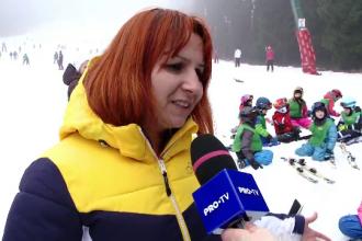 Viețile copiilor de pe pârtie, puse în pericol de monitorii de schi. Justificarea acestora