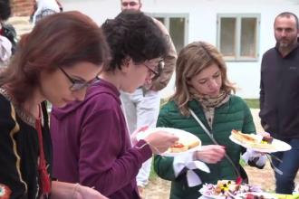 Reacția unui cuplu din California care a vizitat Sibiul pentru prima dată
