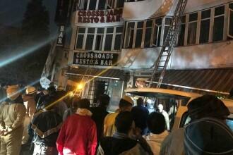 Hotel din New Delhi, cuprins de flăcări. 17 au murit, între care și un copil