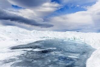 Nouă descoperire istorică făcută sub stratul de gheaţă din Groenlanda