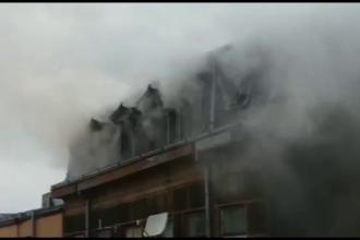 Incendiu puternic în Brăila. Flăcările amenințau să se extindă