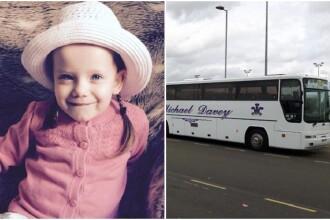 Coșmarul unei fetițe de doar 3 ani, uitată 5 ore într-un autocar