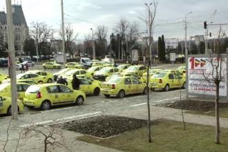 Proteste ale taximetriştilor în toată ţara.