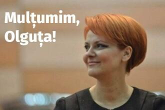 "Partidul Social Democrat: ""Mulțumim, Olguța! Rușine, Iohannis!"""