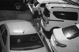 Cine e tânărul care a tăiat roțile a 17 autoturisme, la Cluj. Surpriză pentru polițiști