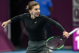 Simona Halep s-a calificat în semifinale la Doha. A învins-o pe Julia Goerges