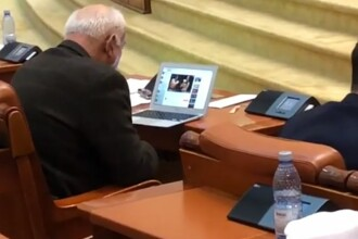 La ce se uita Varujan Vosganian în ședința de dezbatere a Bugetului. VIDEO