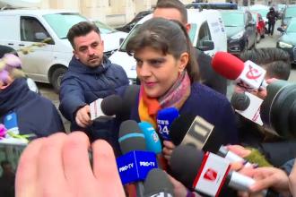 """Filmul audierii Laurei Codruța Kovesi. """"De doi ani sunt hărțuită. Nu este o coincidenţă"""""""