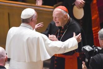 Premieră în Biserica Catolică. Pedeapsa primită de un fost cardinal acuzat de abuzuri sexuale
