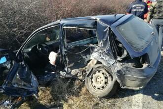 Accident cumplit în Arad, duminică după amiază. Scene terifiante găsite la fața locului
