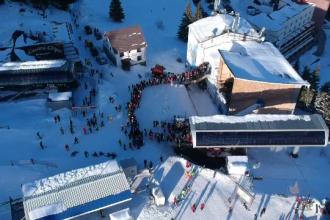 """Stațiunile de la munte atrag tot mai mulți turiști străini: """"E frig, dar e foarte frumos"""""""