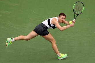 Simona Halep - Eugenie Bouchard 7-6, 6-4. Simona merge în optimi la Dubai