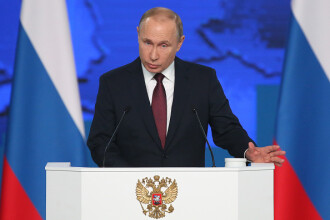 Putin le promite ruşilor o îmbunătăţire a situaţiei lor