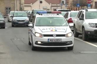 Accident în București cu o mașină de poliție din coloana oficială a unui diplomat străin