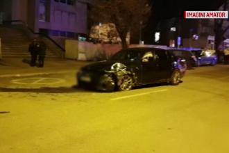 Un șofer de 20 de ani din Piteşti a scăpat miraculos dintr-un accident grav. Amenda primită