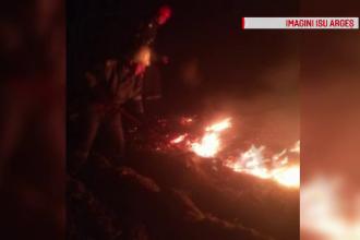 Incendii scăpate de sub control în Bârlad. Oamenii au dat foc la miriște