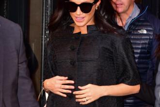 Petrecere surpriză pentru Meghan, în New York. Printre invitate s-a numărat şi Amal Clooney