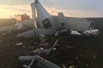 Un avion de mici dimensiuni s-a prăbușit. Pilotul a supraviețuit, dar elevul său nu