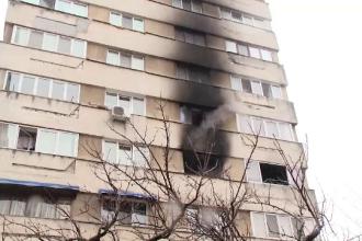 Un bloc-turn din Craiova era să ardă din cauza televizorului unui pensionar